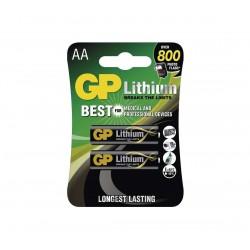 Elem GP Líthium AA FR6, 1.5V - 4db